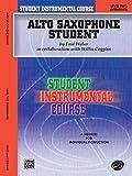 Student Instrumental Course Alto Saxophone Student: Level II