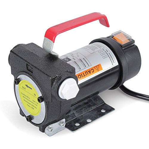 ARKSEN DC 12V 10GPM Electric 155W Diesel Oil And Fuel Transfer Extractor Pump Motor Auto Fluid 12-Volt Battery Powered