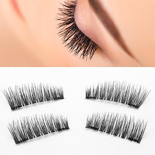 aa80bff0480 Nugilla Dual Magnetic False Eyelashes [Glue-free] – 3D Natural Look ...