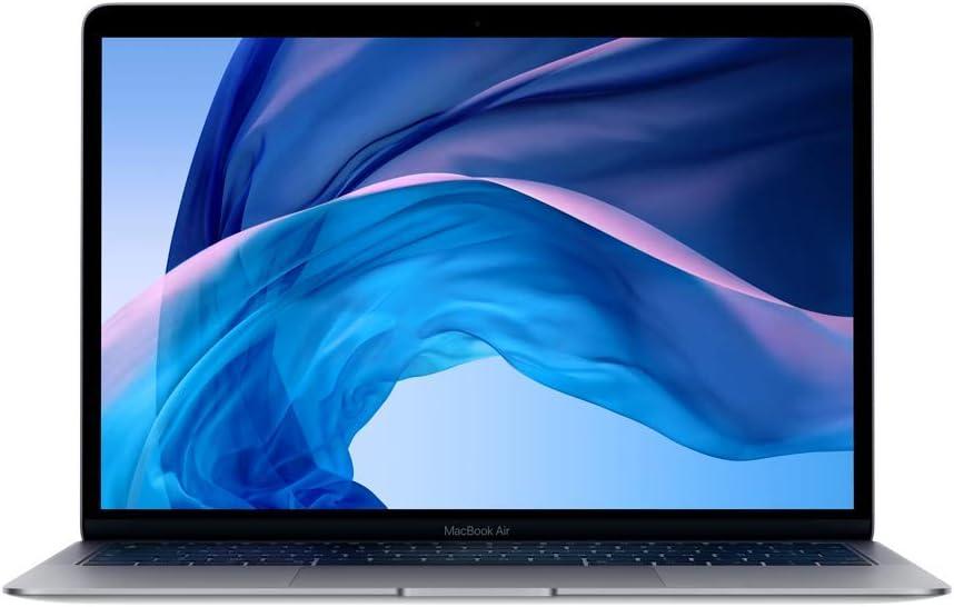 Apple MacBook Air (13pouces, Dernier Modéle, 8Go RAM, 128Go de stockage, Intel Corei5 à 1,6GHz) - Gris Sidéral