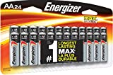 Energizer AA Batteries (24 Count), Double A Premium Max Alkaline Battery – Packaging May Vary