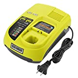 Powilling P117 Dual Chemistry IntelliPort Charger Li-ion & Ni-cad Ni-Mh Battery Charger 12V MAX and 18V MAX For Ryobi ONE Plus