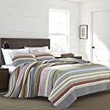 Eddie Bauer Salmon Ladder Quilt Set, Full/Queen,