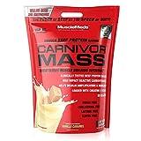 MuscleMeds Carnivor Mass Anabolic Beef Protein Gainer, Vanilla Caramel, 10.5 Pounds