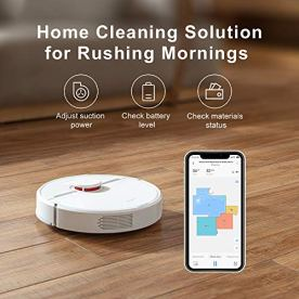 DreameTech-D9-Robotic-Vacuum-and-Mop-Cleaner-Lidar-Navigation-Robot-Vacuum-Sweep-and-Mop-2-in-1-3000Pa-Strong-Suction-Power-150min-Runtime-Smart-Mapping-for-Pet-Hair-Carpet-Hard-Floor
