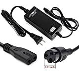 EVAPLUS 42V 2A Power Adapter PowerFast 3-Prong Inline Connector for Pocket Mod Sports Mod and Dirt Quad...