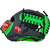 Rawlings  Gamer XLE Gloves with Modified Trap-Eze Web, Left Hand, Grey, 11.75'