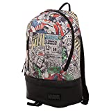 Marvel Comic Backpack - Marvel Backpack w/Bottom Zip