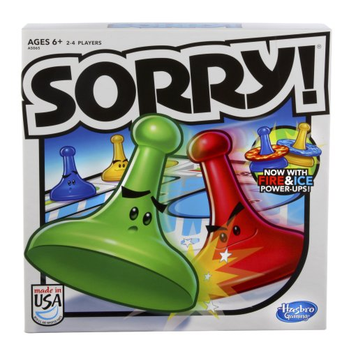 Hasbro Sorry! 2013 Edition Game