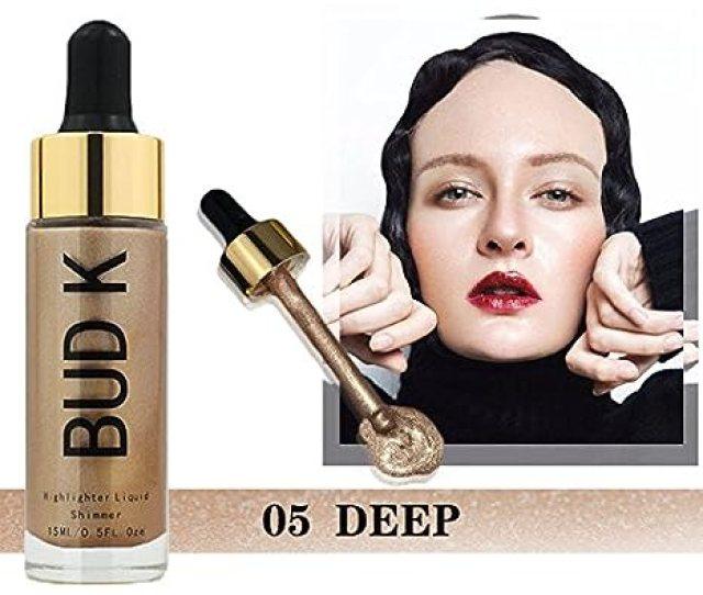 Buy Bud K Brand Liquid Highlighter Face Brighten Makeup Glitter Concealer Face Powder Liquid Glow Shimmer Haylayter Bronzer Base Bk 16 05 Online At Low