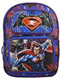 "DC Comics Batman vs Superman Boys' 16"" Deluxe School 3D Pop Out Backpack Book Bag"