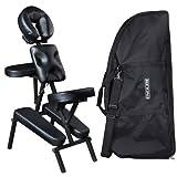 ROBIN Black Salon Spa Portable Massage Chair - MC-50BLK