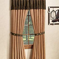 Embroidered Western Star Curtains
