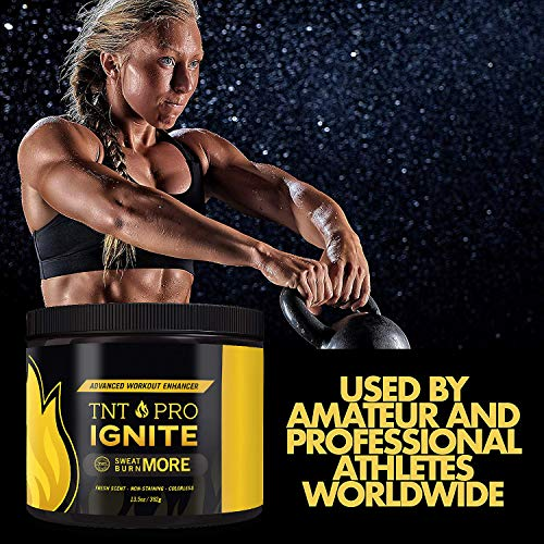 Fat Burning Cream for Belly – TNT Pro Ignite Sweat Cream for Men and Women – Thermogenic Weight Loss Workout Slimming Workout Enhancer (13.5 oz Jar) 9