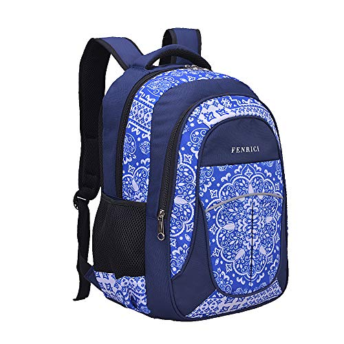 Backpack for Girls, Kids by Fenrici | 18' Durable Elementary, Middle School Backpack | Supporting Kids with Rare Diseases(PERSISTENCE,Medium)