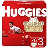Huggies Little Snugglers Baby Diapers, Size 3, 76 Count (Packaging May Vary)