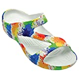 DAWGS Women's Arch Support Loudmouth Z, Drop Cloth, 8 M US