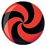 Brunswick Spiral Red/Black Glow Viz-A-Ball 12 Pounds