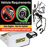 MPC Complete Plug-n-Play Remote Start Kit for 2012-2017 Toyota Camry Push-to-Start Non-Hybrid - Uses Factory Remotes