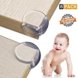 SEAVON Table Corner Protectors, Baby Proofing Table Corner Guards & Edge Protectors for Furniture, Child Proof Corner Safety Bumpers- Safety Table Corner Cushion