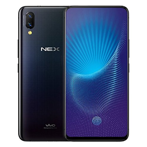 """Vivo Nex S Mobile Phone Snapdragon 710/845 Octa Core 6.59"""" OLED Full Screen Auto-elevated Camera 4000mAh Type-C AI HiFi Support Google By-(REAL STAR TECHNOLOGY)(8G 256GB black flagship)"""