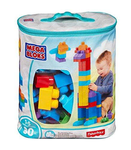 Mega Blocks 80-Piece Big Building Bag