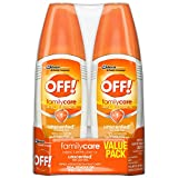 OFF! FamilyCare Insect Repellent IV Unscented, 6 Fl Oz (2 Count)