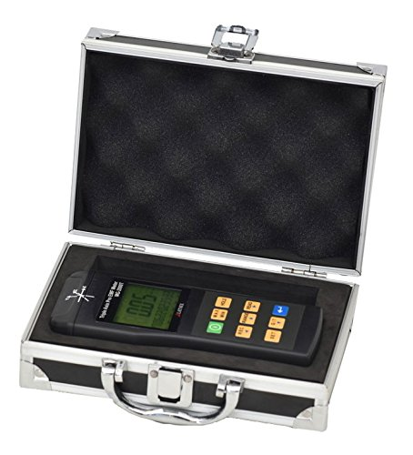 EMI Magnetic Gauss Meter MG-2000T 3 Axis Professional, Calibration Certificate, Alum Case, Magnetic Interference from MRI Machines Industrial Medical Equipment Power Lines, Appliances EMF inspections