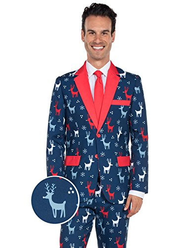 tipsy elves the reindeer gains holiday christmas - Christmas Jacket
