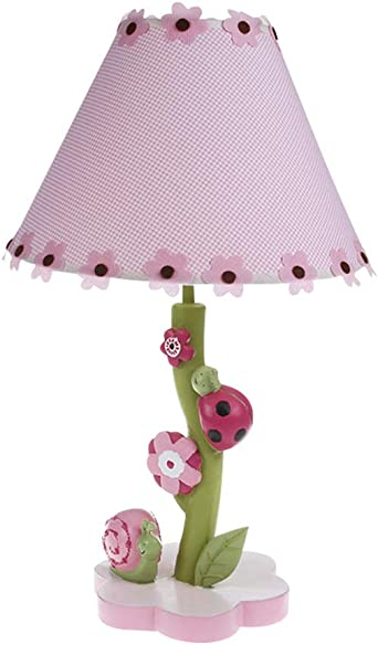 Childrens Bedside Lamp Flowers And Snails Table Lamp Dimmer Switch Can Adjust The Brightness Of The Lamp At Will Suitable For Girls Room Amazon Co Uk Lighting