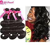 Ali Pearl Brazilian Body Wave Virgin Human Hair 3 Bundles Unprocessed Body Wave Hair 3 Bundles Hair Extentions Wholesale Hair Deal (10 10 10)