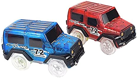 Replacement Light up Cars for Magic Tracks Cars Only As
