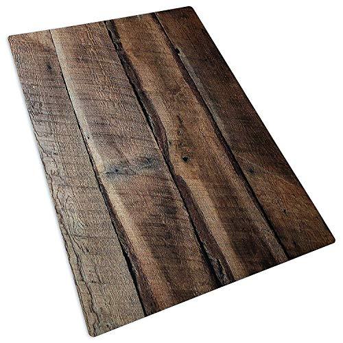 Bessie Bakes Dark Brown Reclaimed Wood Replicated Board