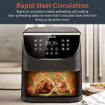 COSORI-Air-FryerMax-XL-58-Quart1700-Watt-Electric-Hot-Air-Fryers-Oven-Oilless-Cooker-for-RoastingLED-Digital-Touchscreen-with-11-PresetsNonstick-BasketETL-Listed100-Recipes