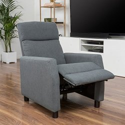 Christopher Knight Home Tahiry Recliner Club Chair, Grey