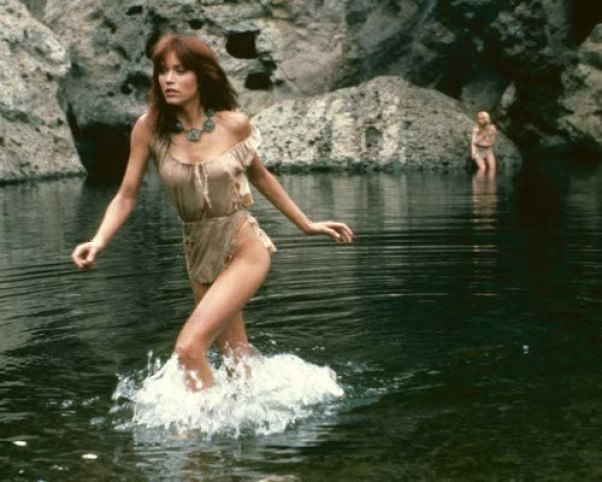 Tanya Roberts in The Beastmaster sexy pose in very skimpy outfit running in  water 8x10 Promotional Photograph at Amazon's Entertainment Collectibles  Store