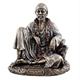 "6.5"" Shirdi Sai Baba - Hindu Guru, Yogi And Saint Eastern Deity Statue India"