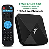 Brazil IPTV Box Lifetime Subscription for 1500 Global Live Channels, Smart Newest International Receiver with Arabic USA Europe Asian Sports Movie News Channels USA Europe Asian Brazil Sports Movie News 4K HD