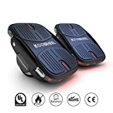 Koowheel Electric Roller Skate Hover Board with LED Lights,250W Dual Motor Self Balancing Scooter for Kids and Adults,Hovershoes Drift X1,3.5' Freeline Skate,12km/h Max Speed