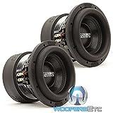 Pair of SA-8 V.3 D4 Sundown Audio 8' Dual 4-Ohm SA Series Subwoofers