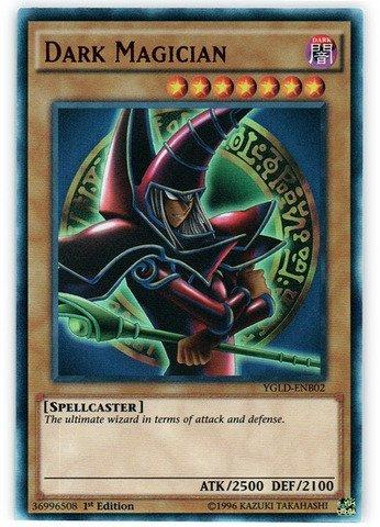 YU-GI-OH! - Dark Magician (YGLD-ENB02) - Yugi's Legendary Decks ...