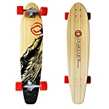 Jaseboards 38'' Kicktail Bamboo Freestyle Longboard