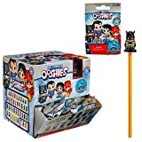 Jakks Pacific Ooshies DC Comics Display Case of Blind Bag Pencil Toppers, Series 1