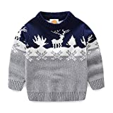 Product review for Mud Kingdom Boys Christmas Sweaters Xmas Deer Clothes