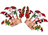 Outgeek Finger Puppets Cute Cartoon Animal Educational Story Hand Puppets for Kids