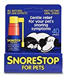Snorestop for Pets 40 Sprays Stop Your Pet's Snoring