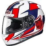 HJC Striker Adult CL-17 Snocross Snowmobile Helmet - MC-1H / Large