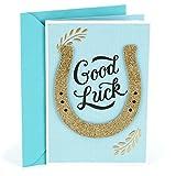 Hallmark Good Luck Greeting Card (Horseshoe)