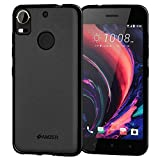 AMZER Pudding TPU Slim Soft Gel Skin Case Thin Protective Cover Skin for HTC Desire 10 Pro - Black