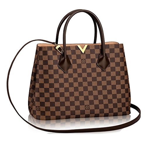 4849cf1ac36f Authentic Louis Vuitton Damier Kensington Shoulder Handbag Article ...